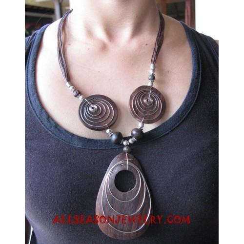 Sono Wooden Necklaces