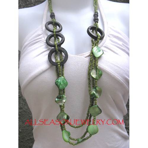 Timber Clam Necklace