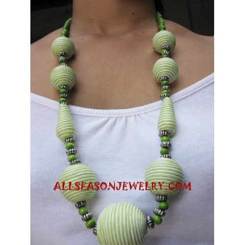 Women Necklaces By Wood