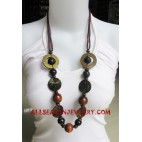 Women Wood Necklace