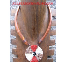 Wood Necklace Accessories