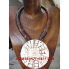 Wood Shell Necklaces