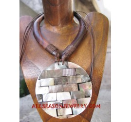 Wood Shells Necklace