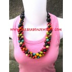 Wooden Necklace Jewels