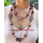 Wooden Necklace Sono