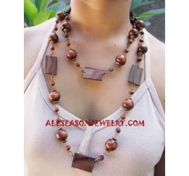 Wooden Necklace Sono