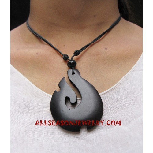Wooden Necklaces Carving