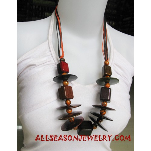 Wooden Necklaces Painting
