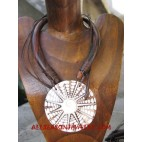Wooden Necklaces Seashell