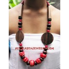 Wooden Necklaces Sono