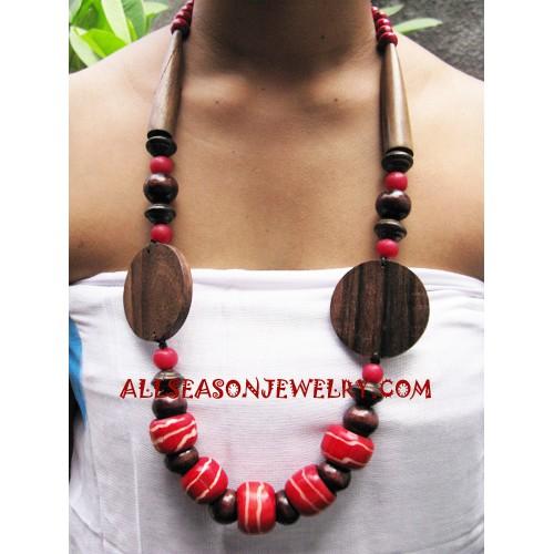 Wooden Necklaces Sono