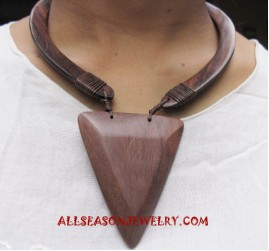 Wooden Organic Necklace