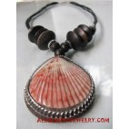 Wooden Shell Necklace