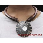 Wooden Shells Necklaces