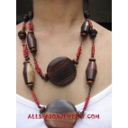 Wooden Sono Necklace