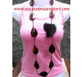 Wooden Teak Necklace