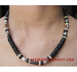 Woods Beaded Necklace