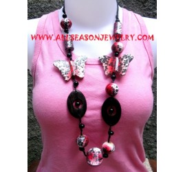 Woods Colored Necklace