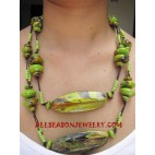 Woods Painting Necklace