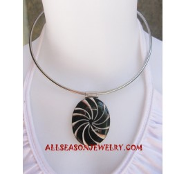 Stainless Shell Necklace