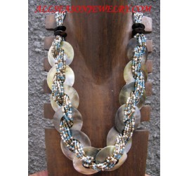 Seashell Necklace Beads