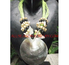 Mother ofPearls Necklaces