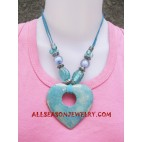 Coral Seashells Necklaces