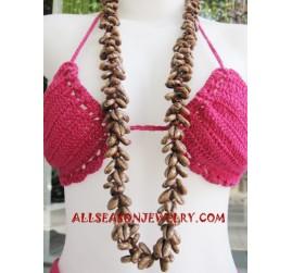 Fashion Necklace Seashells
