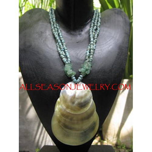 Indonesia Seashells Necklaces