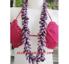 Long Seashell Necklace