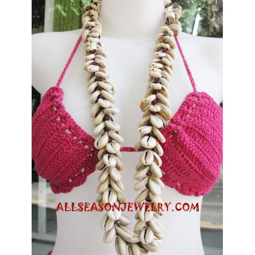 Natural Necklace Seashell