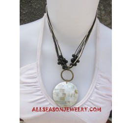 Necklace Shell Pendants
