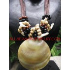 Organic Seashells Necklaces