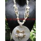 Organic Seashell Pendants
