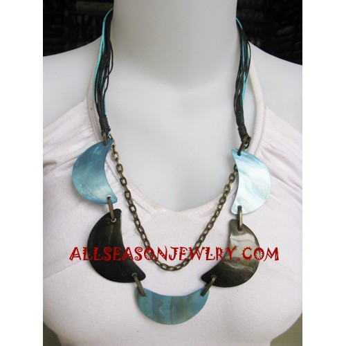 Painting Shell Necklace
