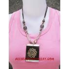 Resin Seashells Necklaces