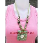 Resin Shells Necklace Pendants