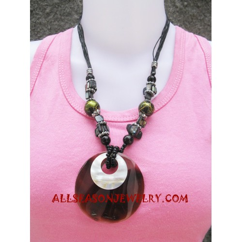 Resin Shells Necklaces