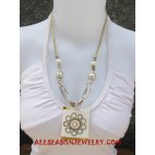 Seashells Resin Necklaces