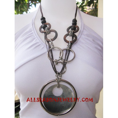 Shell Necklace Stainless