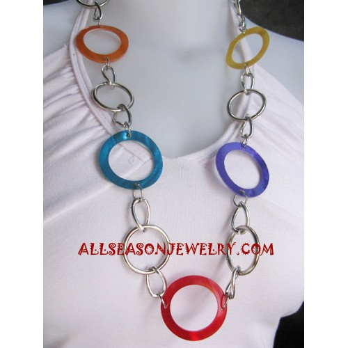 Stainless Necklace Seashell