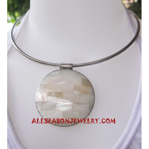 Stainless Seashells Necklace