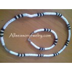 white puka shells necklace