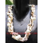 Wired Shells Necklaces
