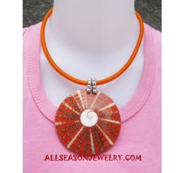 Big Resin Necklace