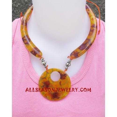 Choker Pendants Necklace