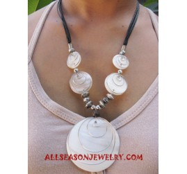 Mother Pearl Necklace Pendant