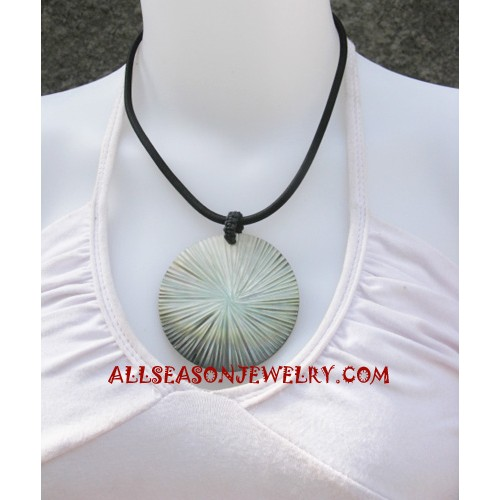 Necklace Pendant Seashells