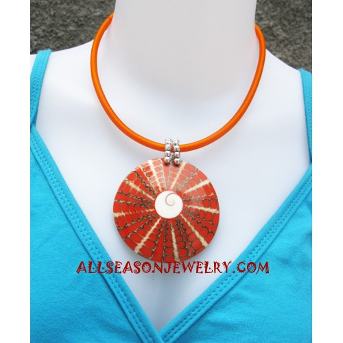 Necklace Resin Seashell