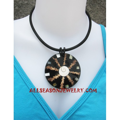 Necklace Shells Resin